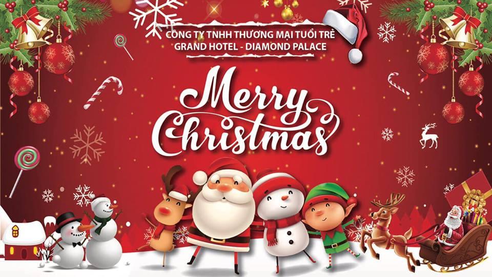 Grand Hotel kính chúc quý khách một mùa lễ hội Noel an lành