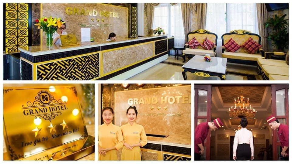 Thông báo tuyển dụng tháng 01/2021 Grand Hotel - Diamond Palace