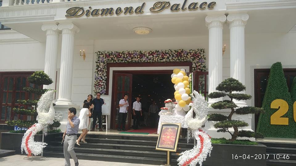 Tiệc cưới tại DIAMOND PALACE