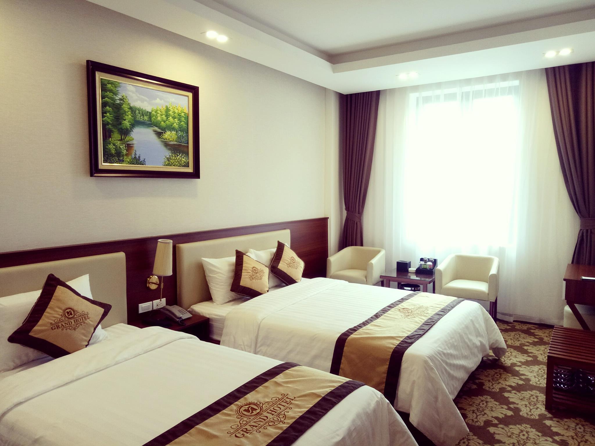 Hình ảnh hệ thống phòng nghỉ tại GRAND HOTEL