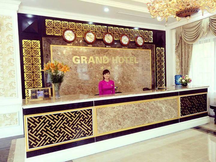 Khu vực Reception - khách sạn Grand
