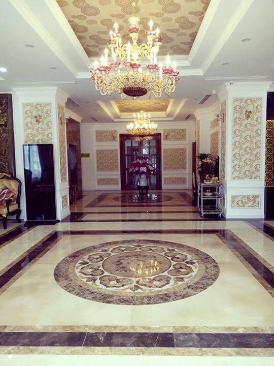 Không gian sảnh khách sạn Grand